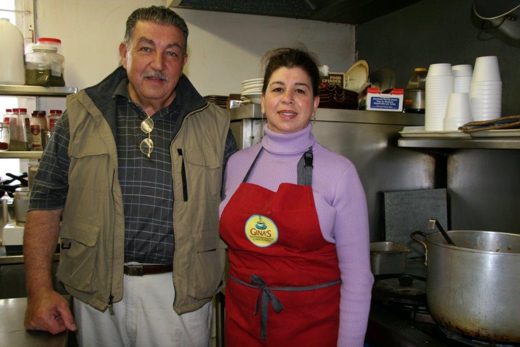 Gina's Deli, Napa, California