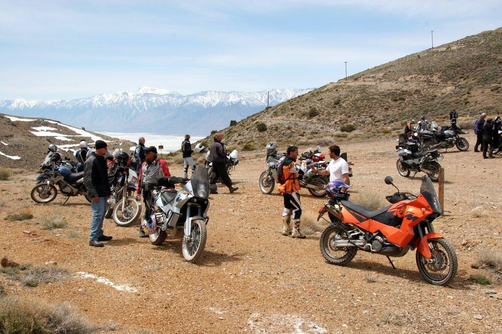 RawHyde Adventure Rally at Ballarat, CA - Pass at Cerro Gordo