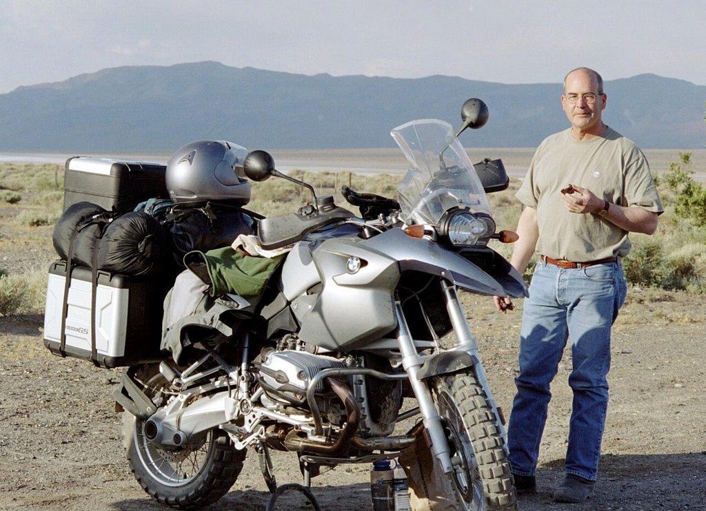 RawHyde Adventure Rally at Ballarat, CA - Tim Campion at camp