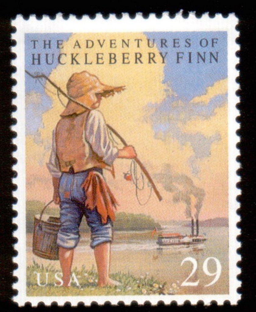 The main theme of mark twains the adventures of huckleberry finn