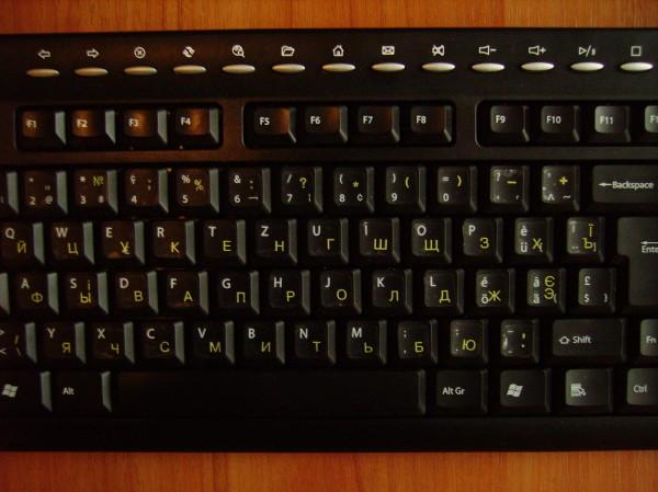russische klaviatur