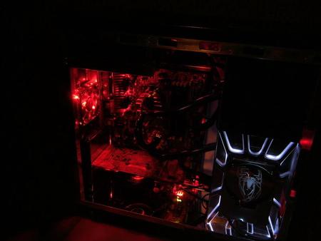 Spiderman CPU Case Mod