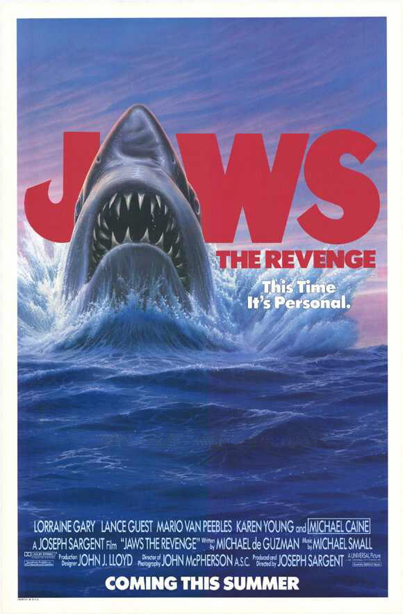 Vicious Imagery: Films Of Michael Caine #53: Jaws The Revenge