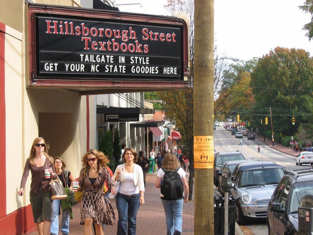 Hillsborough Street Highlights Bookstores On Hillsborough