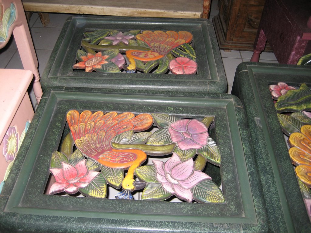 Hand Carved Furniture From Michoacan