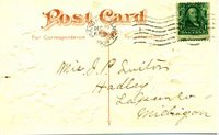 postcard address side
