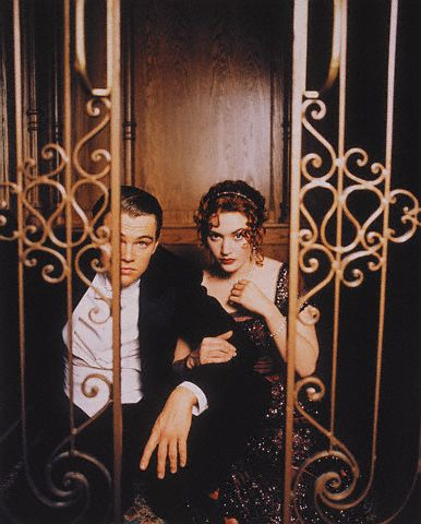 Titanic a film by james cameron titanic photoshoot - Jack and rose pics ...