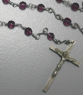 Wire Wrapped Rosary