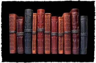 Renaissance Art leather books