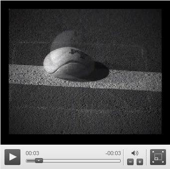 bote de la pelota de tennis