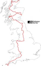 My 2007 LEJOG route