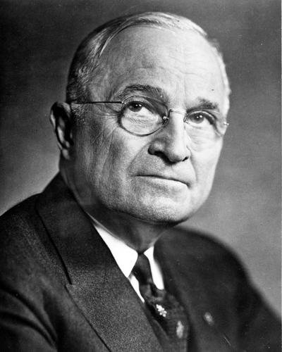 Photograph Harry S Truman Former President United States