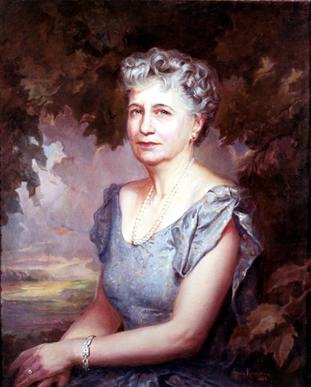 Official White House Portrait Bess Wallace Truman