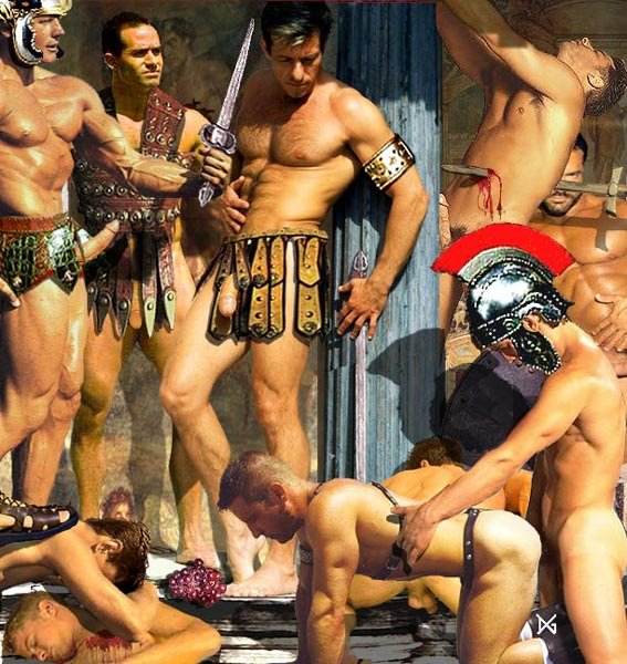 Spartacus liam mcintyre vs gladiator porn star eliad anastos
