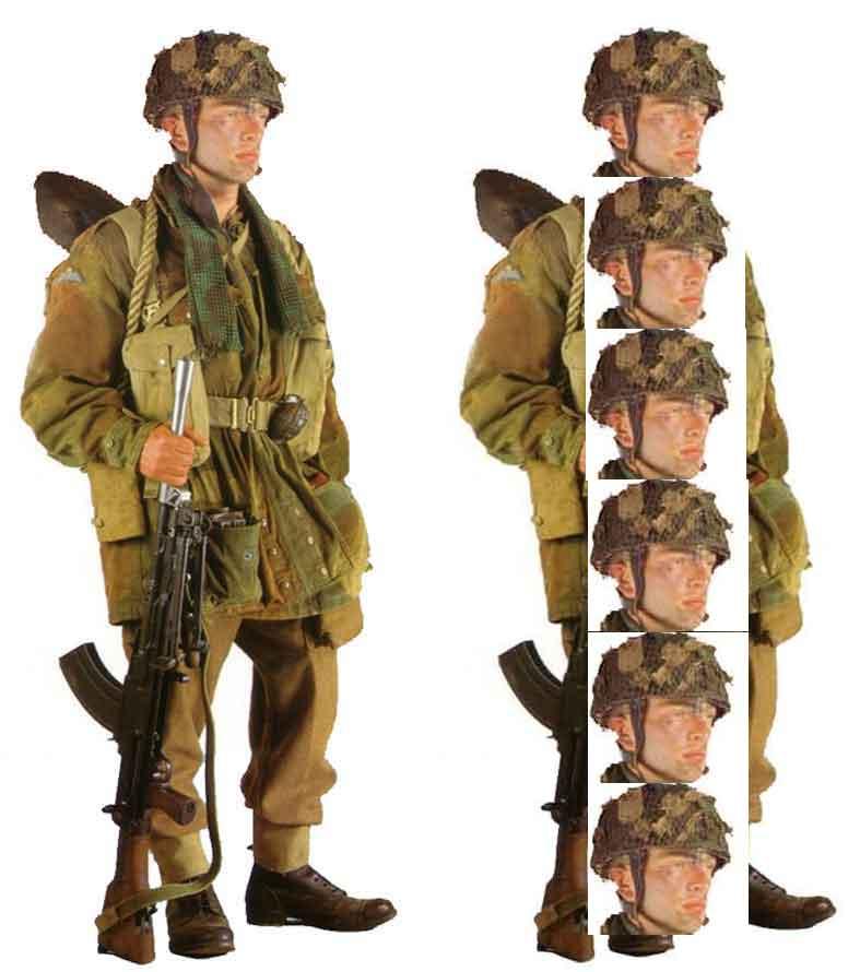 British Paratrooper Uniform 75
