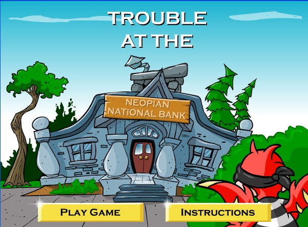Me and My Neopets: Game Master Challenge: Trouble at the