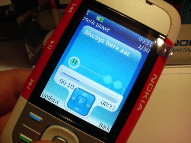 MassOrder Mobile tech Blog: Review Nokia 5300 Music Edition