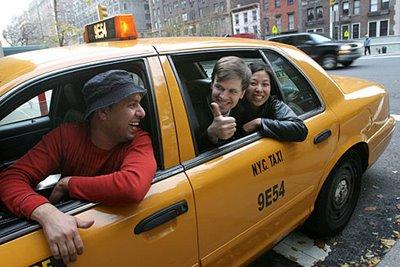 Voy de viaje: Compartir taxi en Nueva York