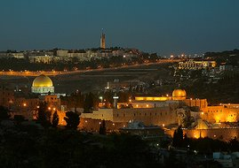 Jerusalem At Night