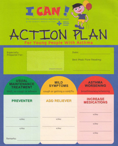 Karri family clinic tampines 12 01 2006 01 01 2007 for My asthma action plan template