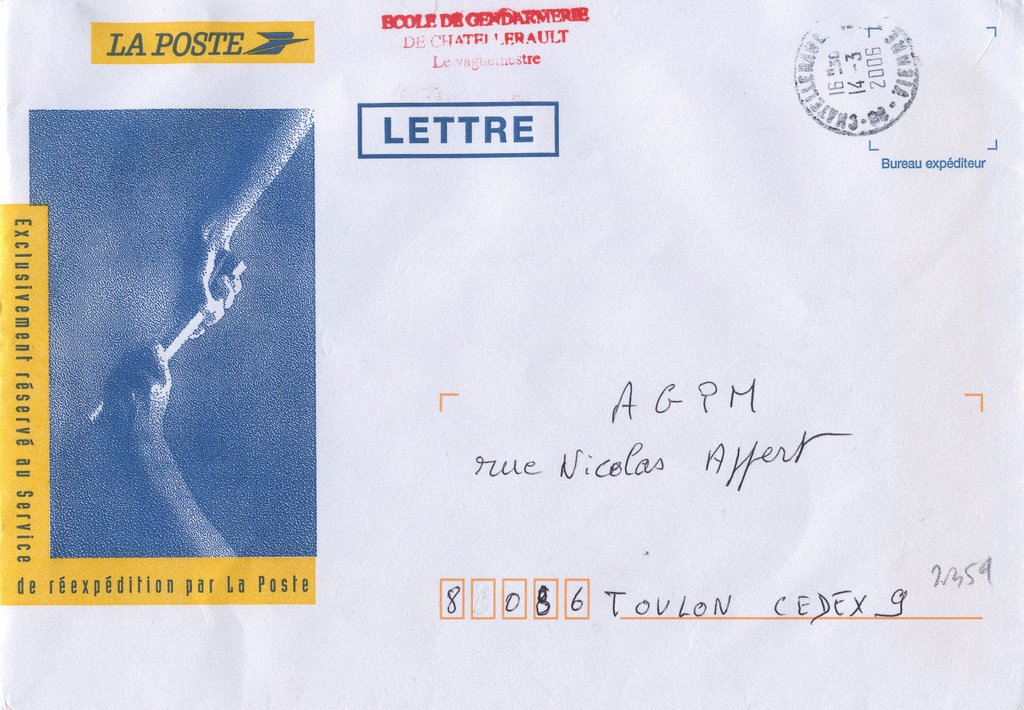 Blog philat lie enveloppes de reexpedition detournees for Reexpedition du courrier temporaire