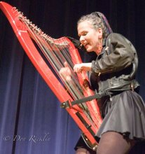 The Hip Harp Lady does Blues.