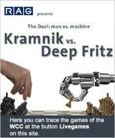 Kramnik pierde contra Deep Fritz al ajedrez