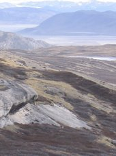 View From the Hills Above Kangerlussuaq