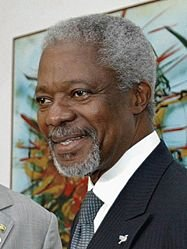 """Annan, the loud-mouthed hypocrite!"" Rev M S Hove."