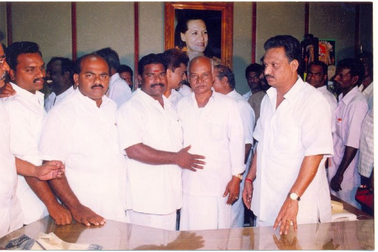 S.M. Arif Maricar With Karaikal & Pondicherry MLA's
