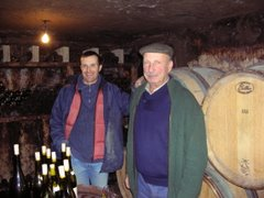 Tasting at Domaine Jean et Gilles Lafouge, Auxey-Duresses