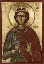 Saint Eadward, King and Martyr +18th March