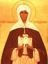 Saint Eanswythe, Abbess of Folkestone +AD640; 31st August