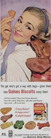 Please support our advertisers:  Gaines Biscuits