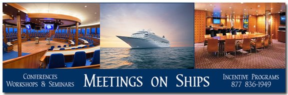 Meetings at Sea on Cruise Ships