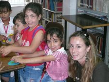 Volunteering at the Beit Jala Library