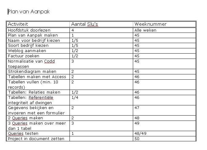 plan van aanpak bedrijf Andrea & Fadimana: Plan van aanpak plan van aanpak bedrijf