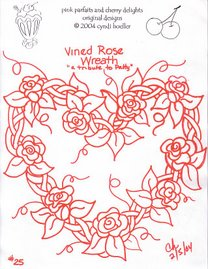 VINED ROSES-a tribute to patty