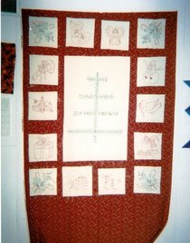 ADVENT QUILT -INCOMPLETE