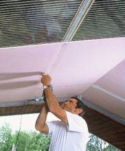Le blog de la plaque de pl tre - Pose placo rampant toiture ...