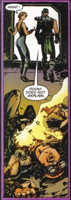 'Does not explain'? Come on, Doom, that's all you do!