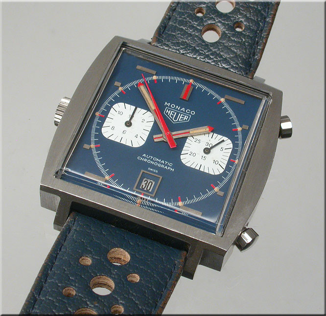Watchismo times tag heuer 39 s concept 39 monaco v4 39 belt for Watchismo