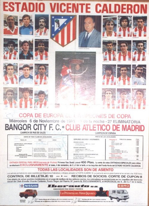 ATLETICO DE MADRID, 1985/1986