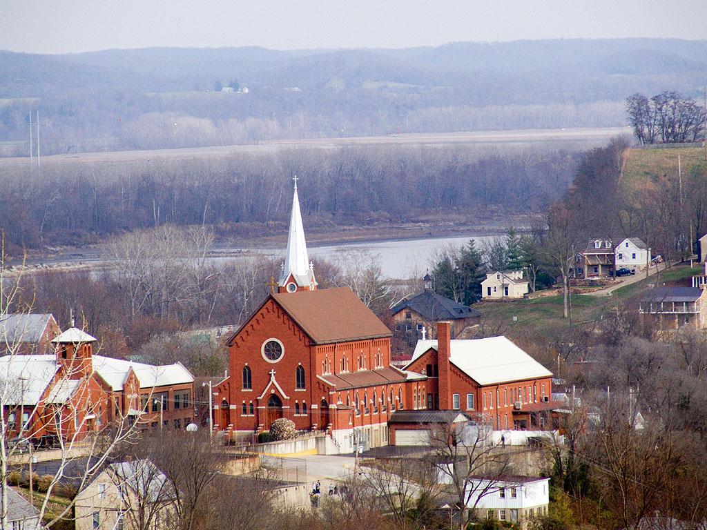 Hermmann Mo Christmas 2021 Rome Of The West Photos Of Saint George Church In Hermann Missouri