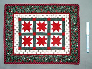 Eight point star quilt by Linda Coleman