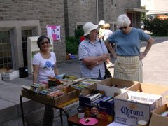 St. Augustine's Book Sale (June 16th, 2007)