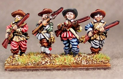 Imperialist Thirty Years War Musketeers