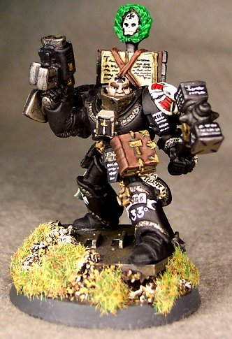 Black Templars Chaplain